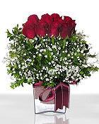 Elazığ kaliteli taze ve ucuz çiçekler  11 adet gül mika yada cam - anneler günü seçimi -