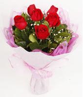 9 adet kaliteli görsel kirmizi gül  Elazığ çiçek online çiçek siparişi
