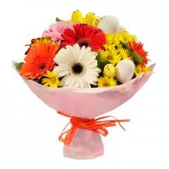 Karışık mevsim buketi Mevsimsel çiçek  Elazığ çiçek yolla