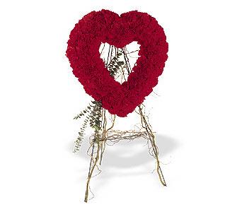 Elazığ İnternetten çiçek siparişi  karanfillerden kalp pano
