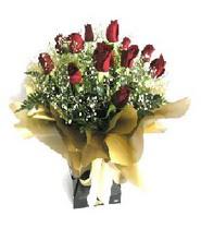 Elazığ çiçek yolla  11 adet kirmizi gül  buketi