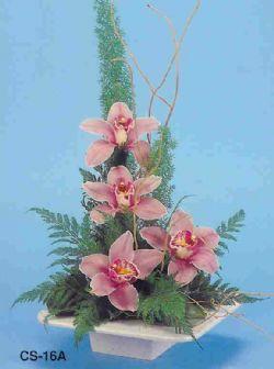 Elazığ çiçek servisi , çiçekçi adresleri  vazoda 4 adet orkide