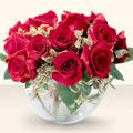 Elazığ internetten çiçek satışı  mika yada cam içerisinde 10 gül - sevenler için ideal seçim -