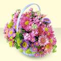Elazığ cicek , cicekci  bir sepet dolusu kir çiçegi  Elazığ anneler günü çiçek yolla