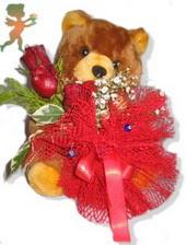 oyuncak ayi ve gül tanzim  Elazığ çiçek gönderme sitemiz güvenlidir