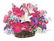 küçük karisik özel sepet   Elazığ internetten çiçek satışı