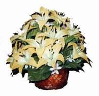 yapay karisik çiçek sepeti   Elazığ çiçek yolla , çiçek gönder , çiçekçi