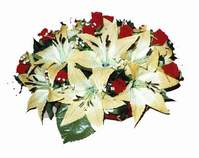yapay karisik çiçek sepeti   Elazığ çiçek yolla