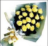 sari güllerden sade buket  Elazığ kaliteli taze ve ucuz çiçekler