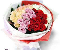 SEVENLERE ÖZEL 51 ADET GÜL  Elazığ İnternetten çiçek siparişi