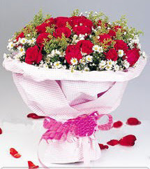 Elazığ İnternetten çiçek siparişi  12 ADET KIRMIZI GÜL BUKETI