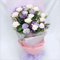 Elazığ İnternetten çiçek siparişi  BEYAZ GÜLLER VE KIR ÇIÇEKLERIS BUKETI