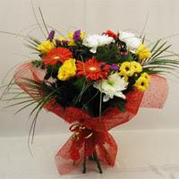 Elazığ yurtiçi ve yurtdışı çiçek siparişi  Karisik mevsim demeti