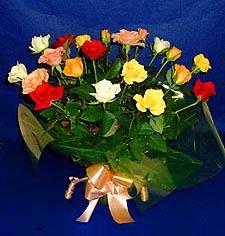 Elazığ yurtiçi ve yurtdışı çiçek siparişi  13 adet karisik renkli güller