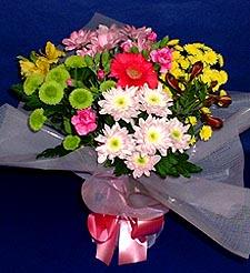 Elazığ yurtiçi ve yurtdışı çiçek siparişi  küçük karisik mevsim demeti