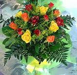 13 adet karisik gül buketi demeti   Elazığ ucuz çiçek gönder