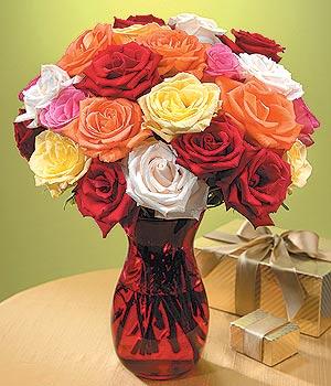 Elazığ çiçekçi mağazası  13 adet renkli gül