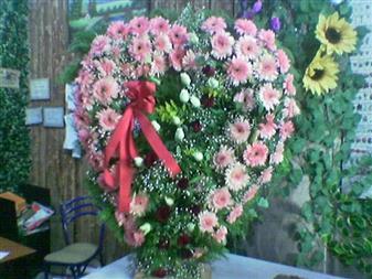 Elazığ çiçek online çiçek siparişi  SEVDIKLERINIZE ÖZEL KALP PANO