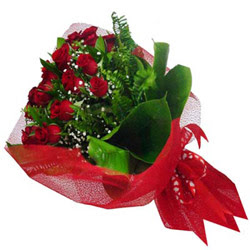 Elazığ çiçek siparişi vermek  12 adet kirmizi essiz gül buketi - SEVENE ÖZEL