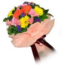 Elazığ online çiçekçi , çiçek siparişi  Karisik mevsim çiçeklerinden demet