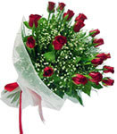 Elazığ İnternetten çiçek siparişi  11 adet kirmizi gül buketi sade ve hos sevenler