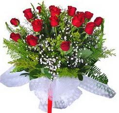 Elazığ çiçek mağazası , çiçekçi adresleri  12 adet kirmizi gül buketi esssiz görsellik