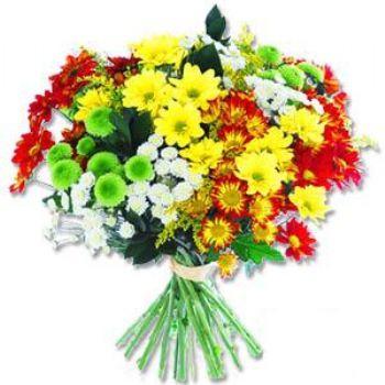 Kir çiçeklerinden buket modeli  Elazığ çiçekçi telefonları