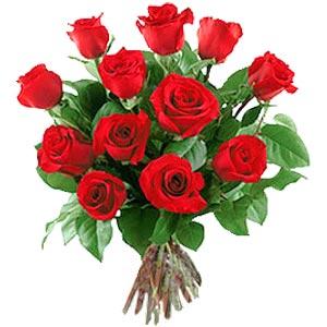 11 adet bakara kirmizi gül buketi  Elazığ online çiçek gönderme sipariş