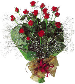 11 adet kirmizi gül buketi özel hediyelik  Elazığ online çiçekçi , çiçek siparişi