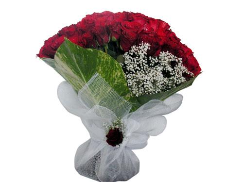 25 adet kirmizi gül görsel çiçek modeli  Elazığ çiçekçiler