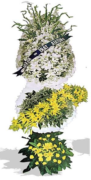 Dügün nikah açilis çiçekleri sepet modeli  Elazığ kaliteli taze ve ucuz çiçekler