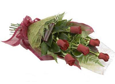 ucuz çiçek siparisi 6 adet kirmizi gül buket  Elazığ çiçek yolla , çiçek gönder , çiçekçi
