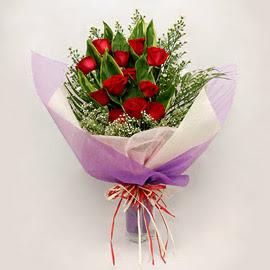 çiçekçi dükkanindan 11 adet gül buket  Elazığ online çiçekçi , çiçek siparişi