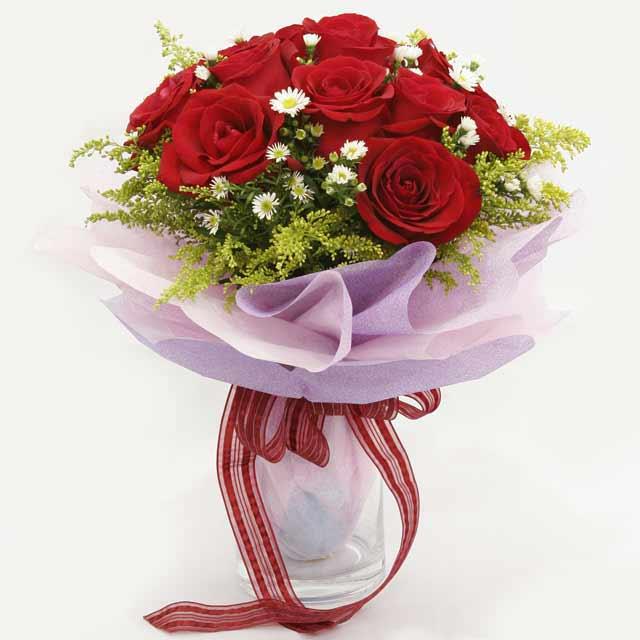 Çiçek gönderme estetikliginiz 11 gül buket  Elazığ online çiçekçi , çiçek siparişi