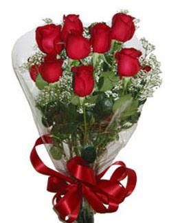 Çiçek sade gül buketi 7 güllü buket  Elazığ çiçekçi telefonları