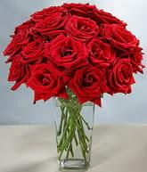 Elazığ online çiçekçi , çiçek siparişi  cam vazoda 11 kirmizi gül  Elazığ çiçek siparişi sitesi