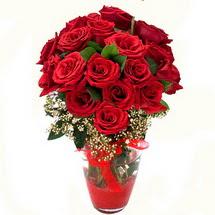 Elazığ çiçek yolla , çiçek gönder , çiçekçi    9 adet kirmizi gül