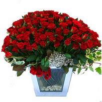 Elazığ çiçek gönderme sitemiz güvenlidir   101 adet kirmizi gül aranjmani