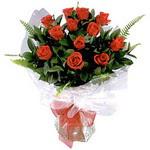 Elazığ kaliteli taze ve ucuz çiçekler  9 adet güzel bir gül buketi