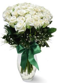 19 adet essiz kalitede beyaz gül  Elazığ çiçek gönderme sitemiz güvenlidir
