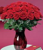 Elazığ internetten çiçek satışı  11 adet Vazoda Gül sevenler için ideal seçim