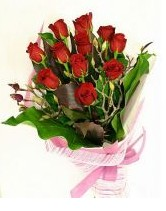 11 adet essiz kalitede kirmizi gül  Elazığ çiçekçi mağazası