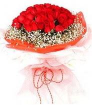 Elazığ çiçek siparişi sitesi  21 adet askin kirmizi gül buketi
