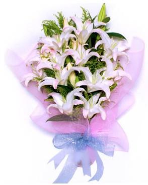 5 dal kazablankadan muhteşem buket  Elazığ yurtiçi ve yurtdışı çiçek siparişi