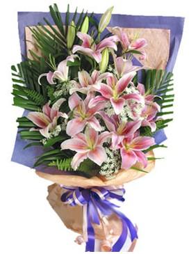 7 dal kazablankadan görsel buket  Elazığ çiçek siparişi vermek