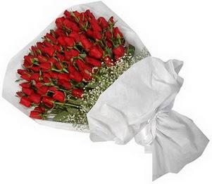 Elazığ 14 şubat sevgililer günü çiçek  51 adet kırmızı gül buket çiçeği