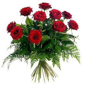 Elazığ çiçek online çiçek siparişi  10 adet kırmızı gülden buket