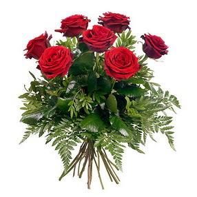 Elazığ çiçekçi telefonları  7 adet kırmızı gülden buket