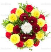 Elazığ online çiçekçi , çiçek siparişi  13 adet mevsim çiçeğinden görsel buket