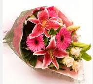 1 dal kazablanka ve mevsim çiçekleri  Elazığ çiçek yolla